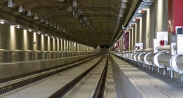 Beveren tunnel with Active Fire Fighting System