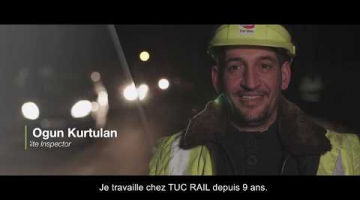 Embedded thumbnail for TUC RAIL | Meet Ogun, Site Inspector
